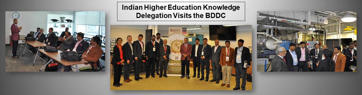 Image - Indian Higher Education Knowledge Delegation Visits the BDDC
