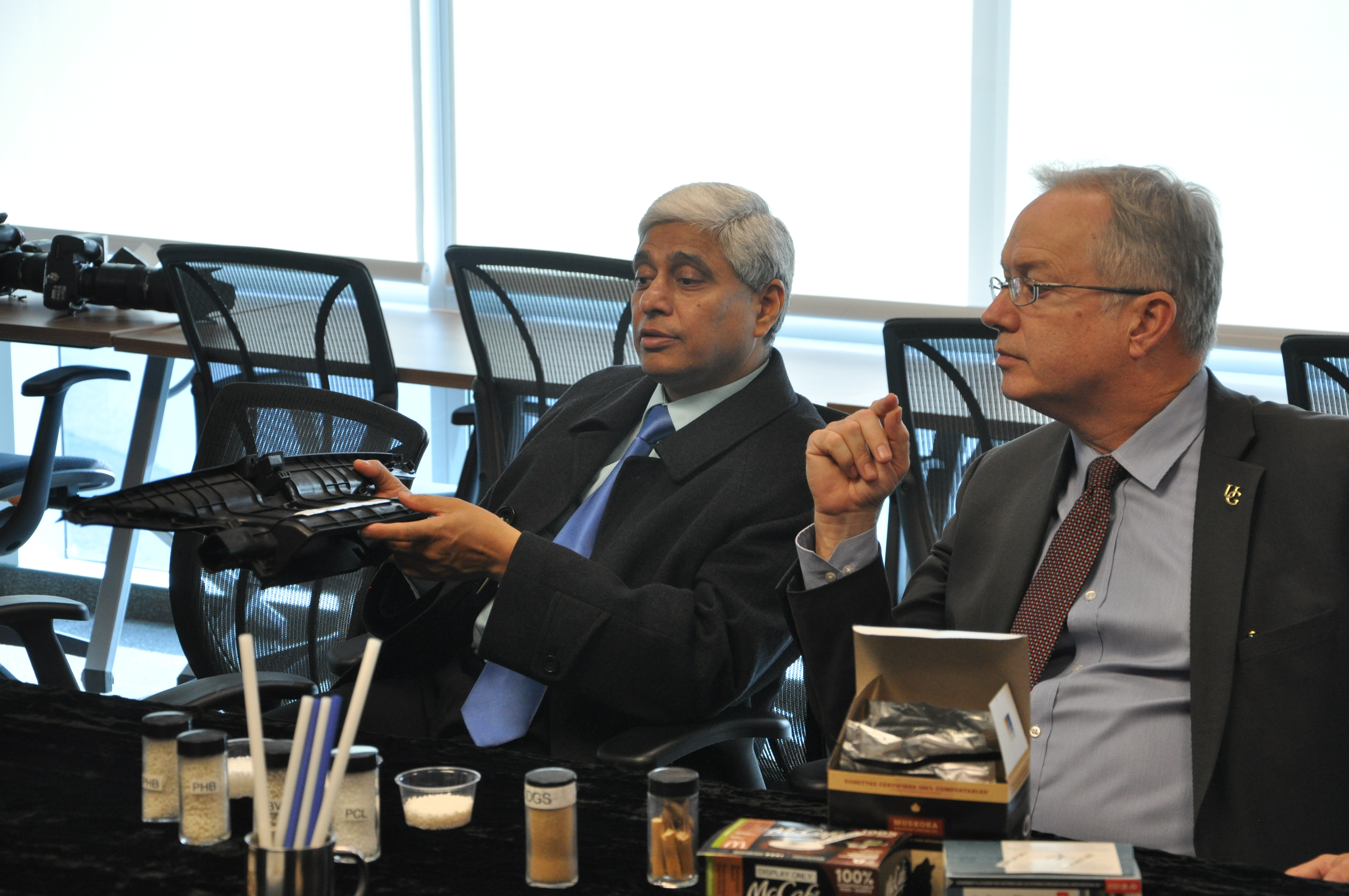 High Commissioner of India given an overview of the BDDC